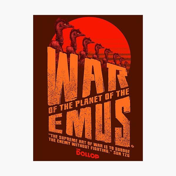 The Dollop - Emu War Photographic Print