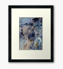Shimmering spirit of arctic heaven Framed Print