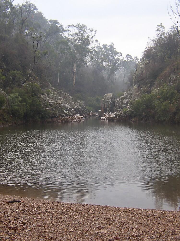 Blue Pool Freestone Creek by sueserein