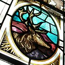 Stag's Head Bar Window by Alice McMahon