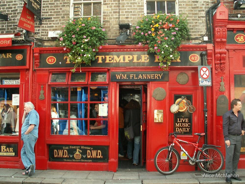 The Temple Bar, Dublin by Alice McMahon