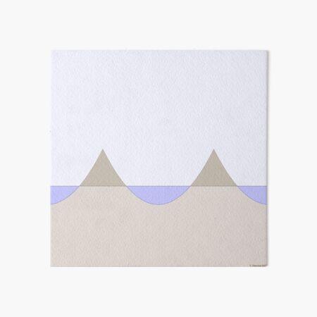 Average Vague - Minimalist Mathematical Art Art Board Print