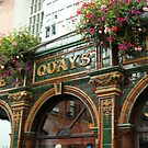 The Quays, Temple Bar district, Dublin by Alice McMahon