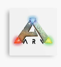 ARK Survival Logo Metal Print