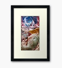 Skies of Nibiru crossing the galactic equator Framed Print