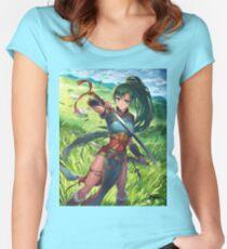 Lyn - Fire Emblem: The Binding Blade  Women's Fitted Scoop T-Shirt