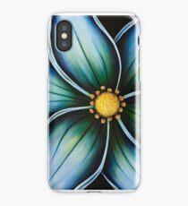 Blue Wildflower iPhone Case/Skin