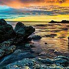 Sunrise Chemical Beach by Reg-K-Atkinson