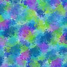 Hydrangeas Abstract by Valerie  Fuqua