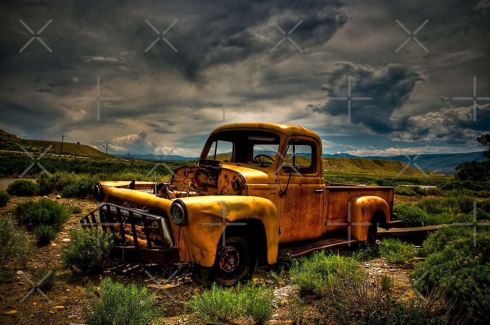 Old Truck by Bob Melgar