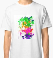 Abstract Colorful Pattern. Geometric Ornamental Triangle Background Classic T-Shirt