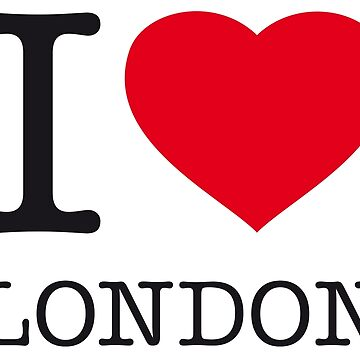 I ♥ LONDON by eyesblau