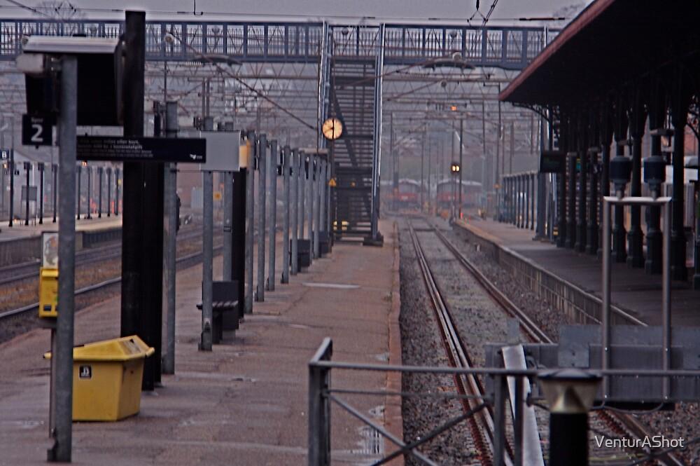 Helsingor Railway Station, Denmark. by VenturAShot