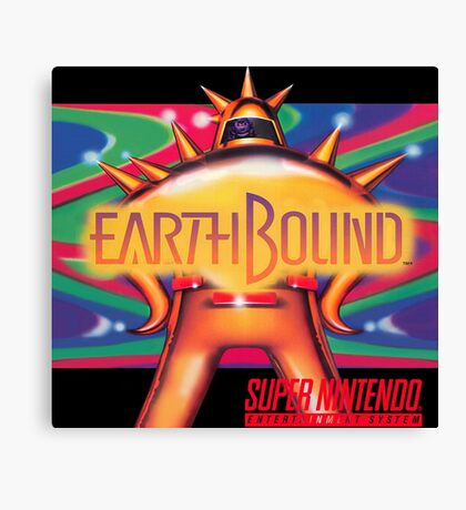 Earthbound & Down Canvas Print