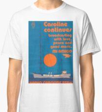 Radio Caroline (Pirate Radio) Classic T-Shirt