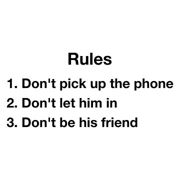 New Rules Dua Lipa Inspired List of Rules by PopularGifts