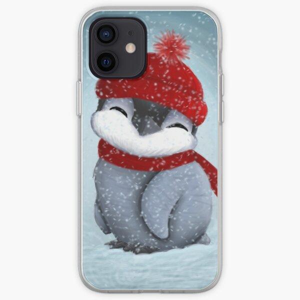 Baby penguin iPhone Soft Case