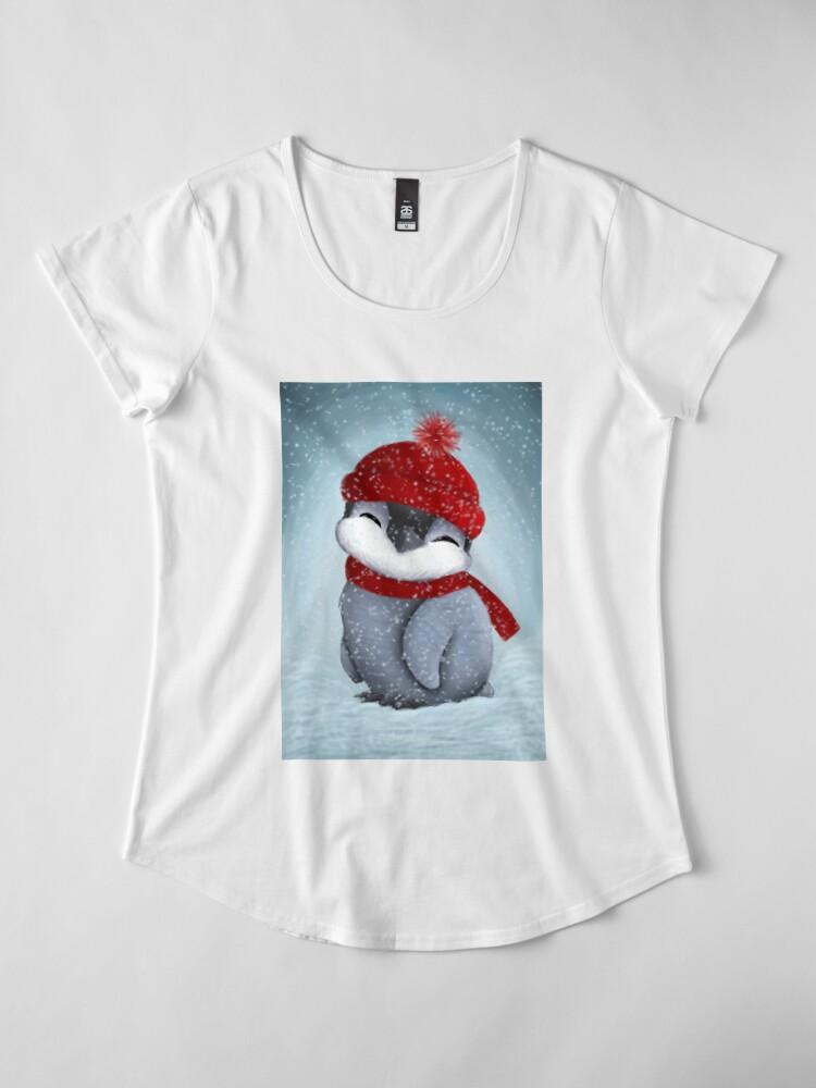 Alternative Ansicht von Baby-Pinguin Premium Rundhals-Shirt