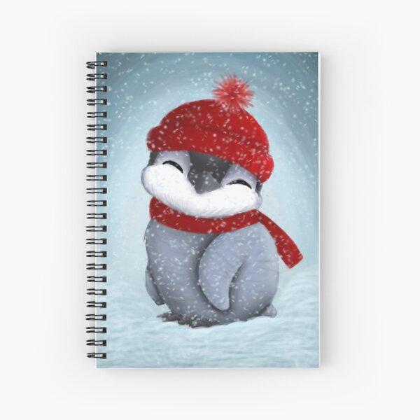Baby penguin Spiral Notebook