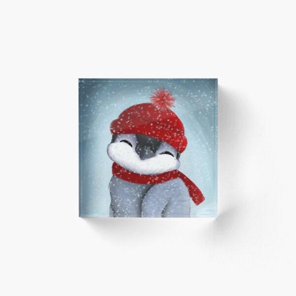Baby penguin Acrylic Block