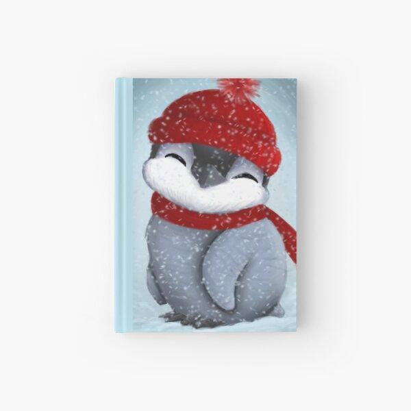 Baby penguin Hardcover Journal