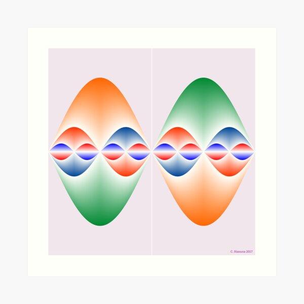 Sinusoidal Symmetry Art Print