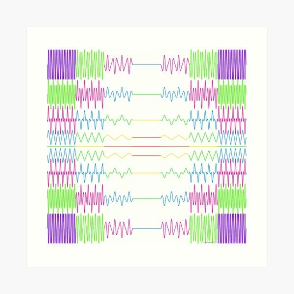 Compositions Composition - A Mathematical Image Art Print