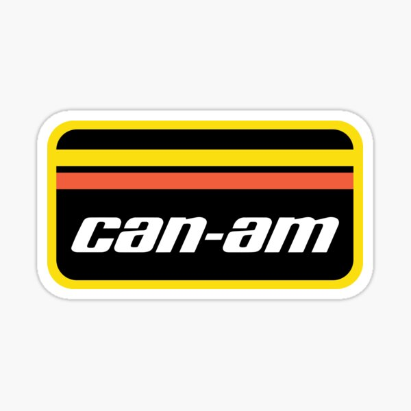 Logo Can-Am Retro Sticker
