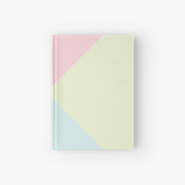 Triangle Pattern-Pastel Colour Hardcover Journal