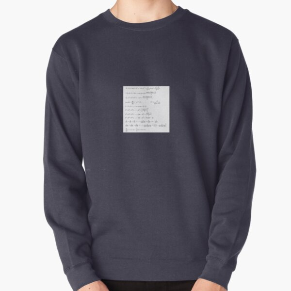 Writings Pullover Sweatshirt
