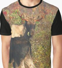 Maine Bull Moose x2 Graphic T-Shirt