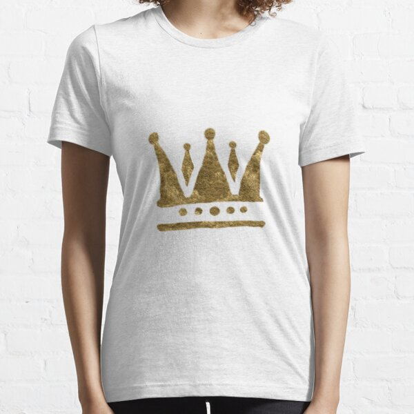 Gold Crown Drawing  Essential T-Shirt