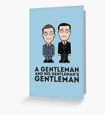 Jeeves and Wooster Greeting Card