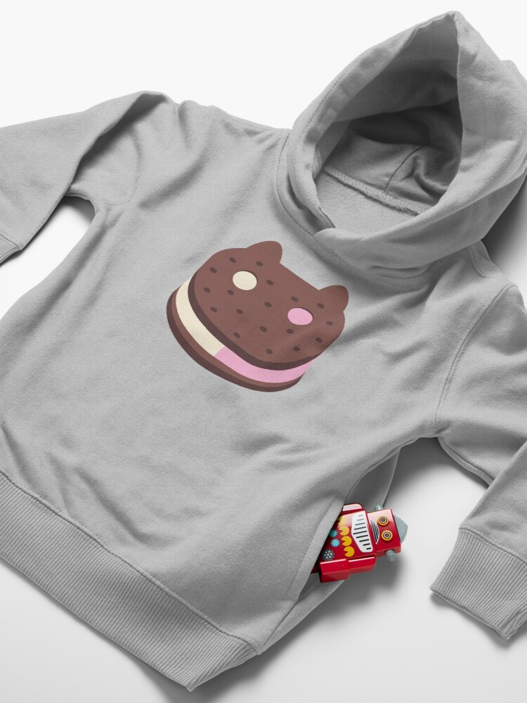 Alternate view of Cookie Cat Toddler Pullover Hoodie