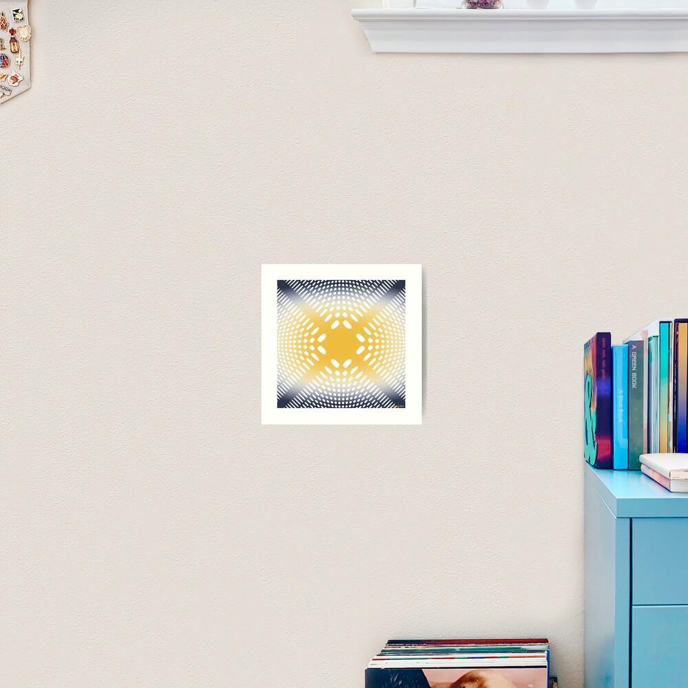 Holey Pattern - Mathematical Image Art Print