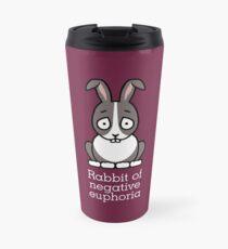 Rabbit of Negative Euphoria Travel Mug