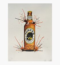 TUSKER LARGER Photographic Print