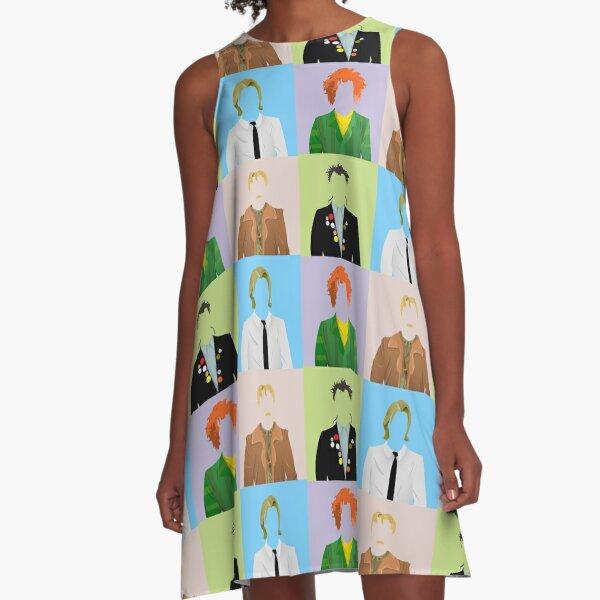 rik mayall tribute A-Line Dress