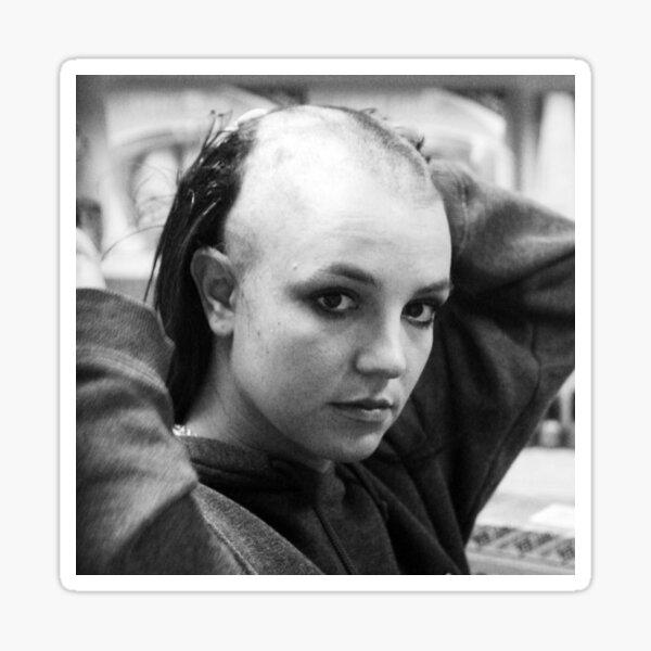 Bald Britney Sticker