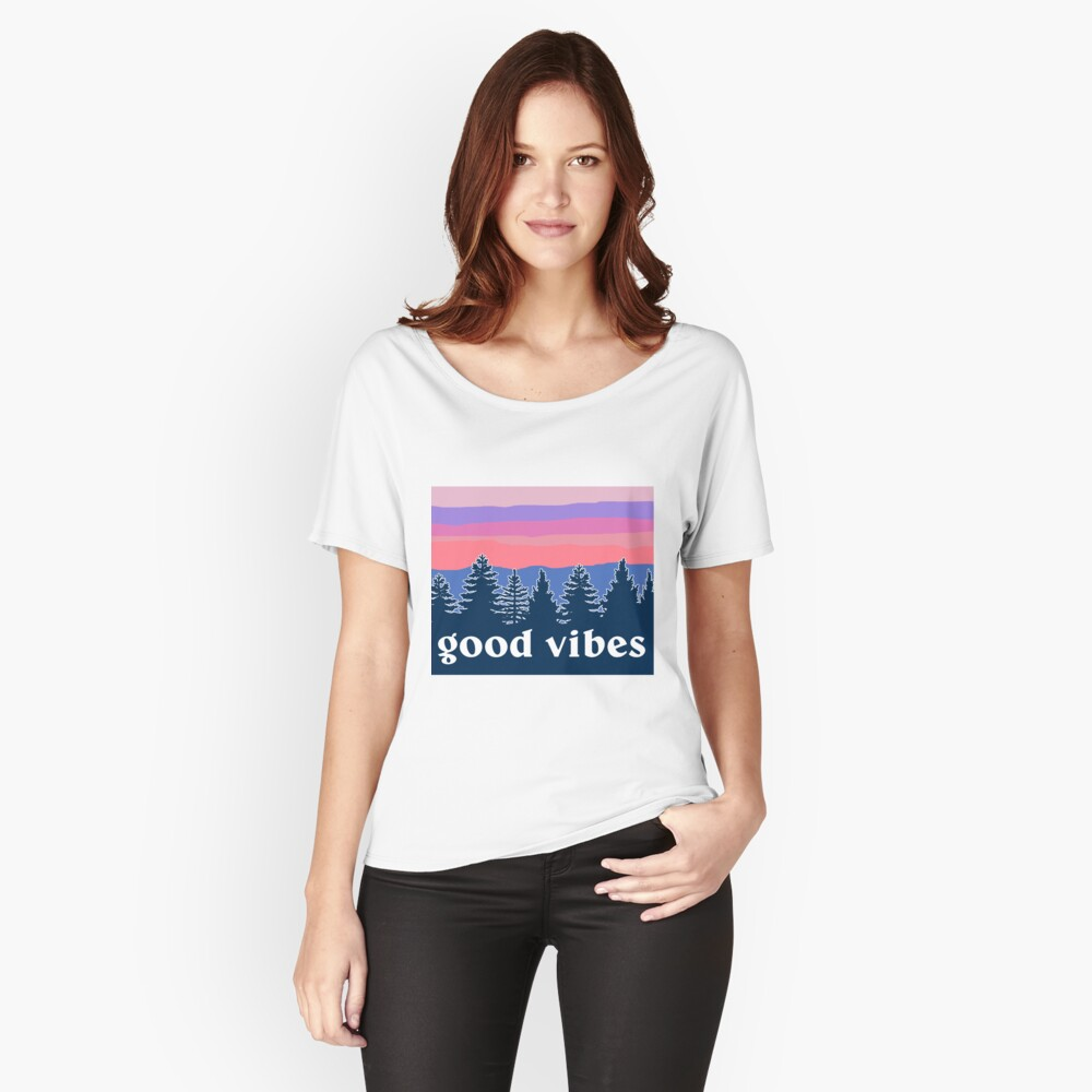 Good Vibes Relaxed Fit T-Shirt
