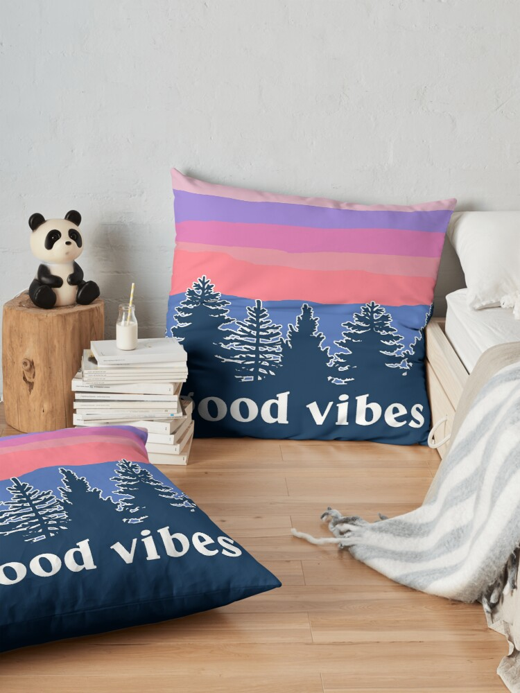 Alternate view of Good Vibes Floor Pillow
