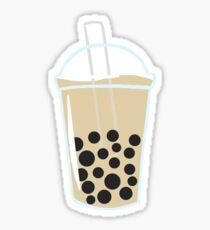 chai boba tea Sticker