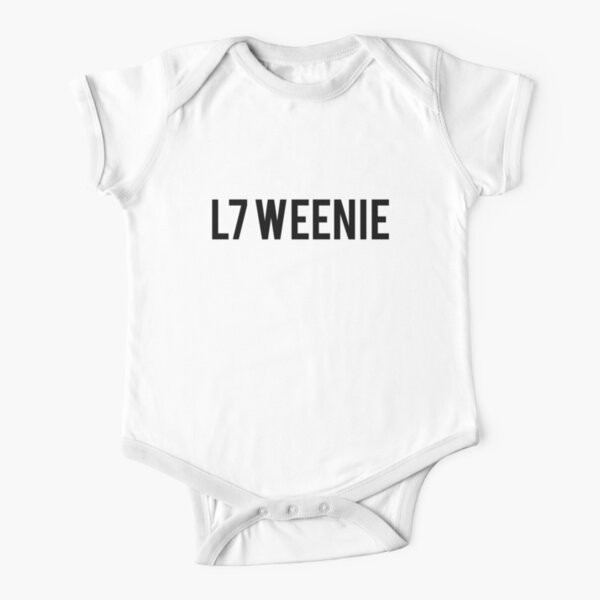 L7 Weenie The Sandlot Movie Text Art Short Sleeve Baby One-Piece