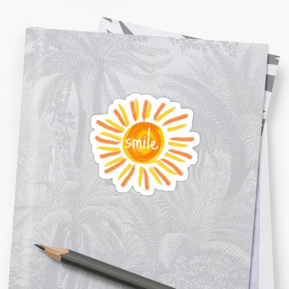 Lächeln Sonnenschein Sticker