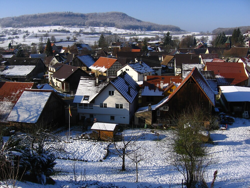 Mein Dorf, Riedlingen, Germany 2008 by J.D. Grubb