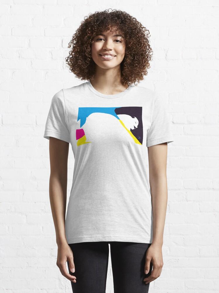 Alternate view of quadricromia quattro Essential T-Shirt