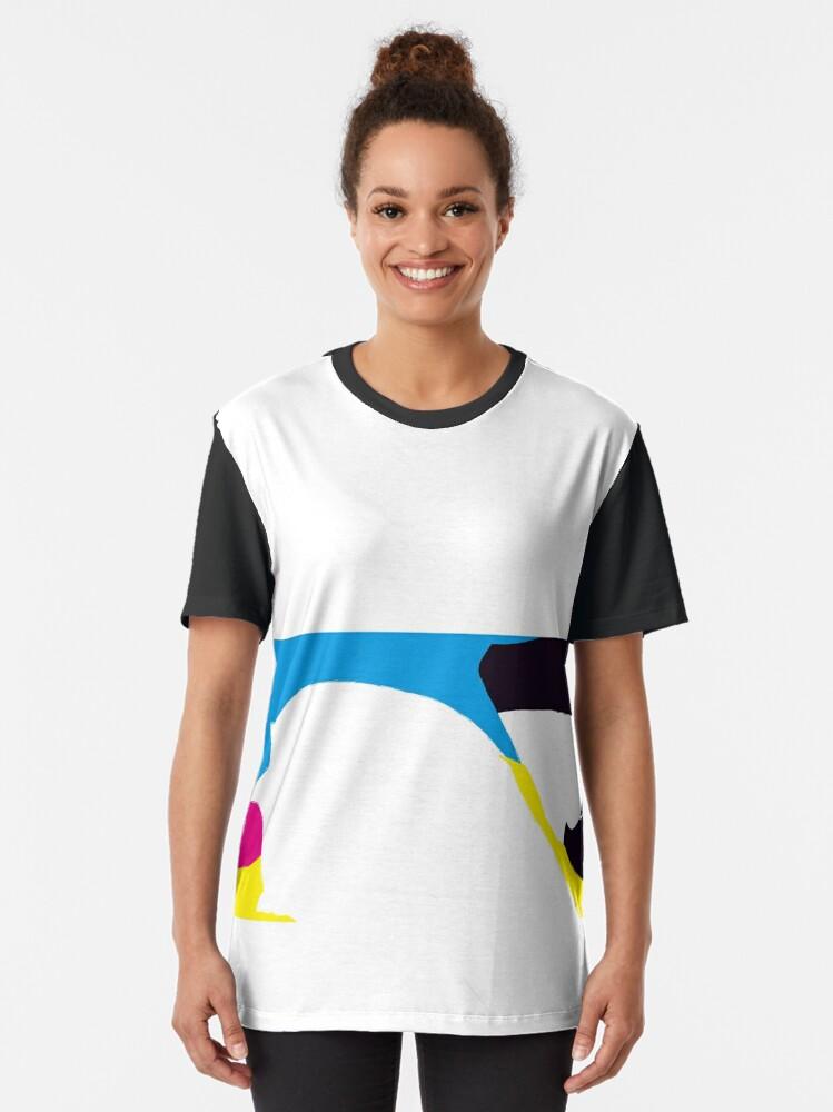 Alternate view of quadricromia quattro Graphic T-Shirt