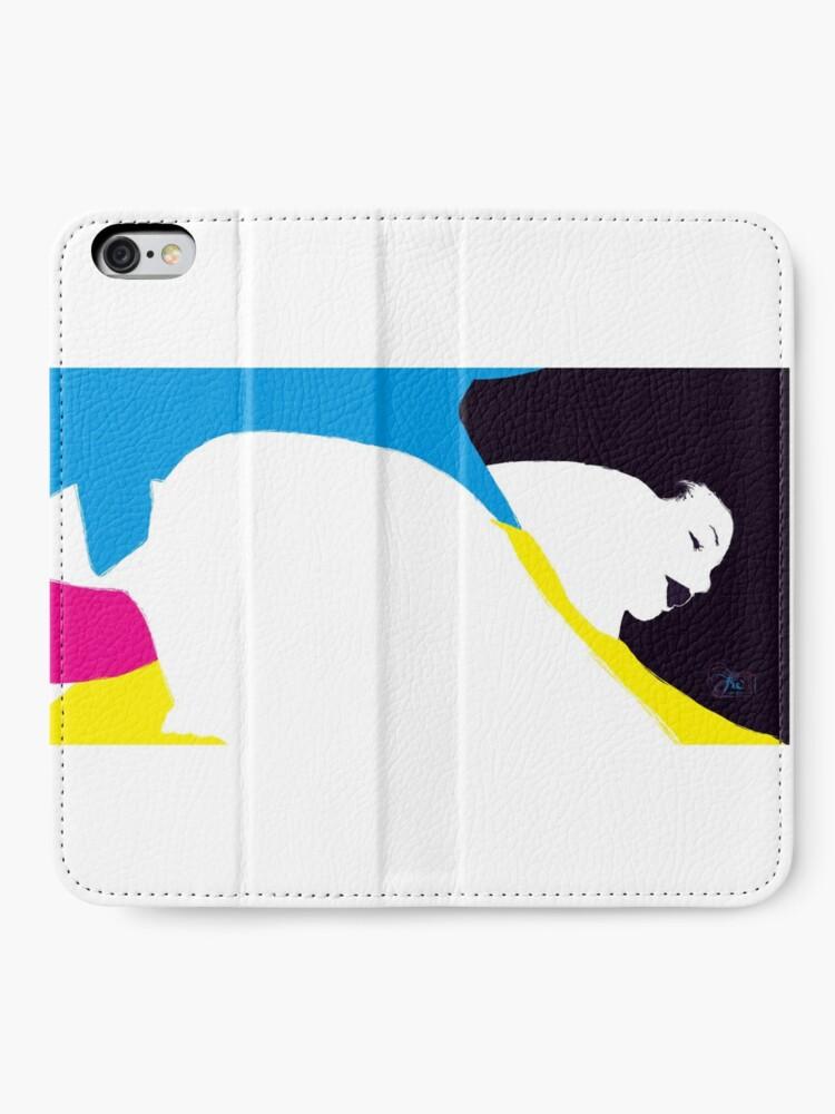 Alternate view of quadricromia quattro iPhone Wallet