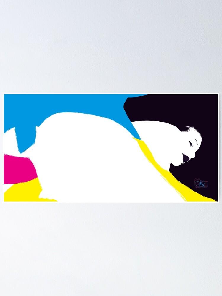 Alternate view of quadricromia quattro Poster