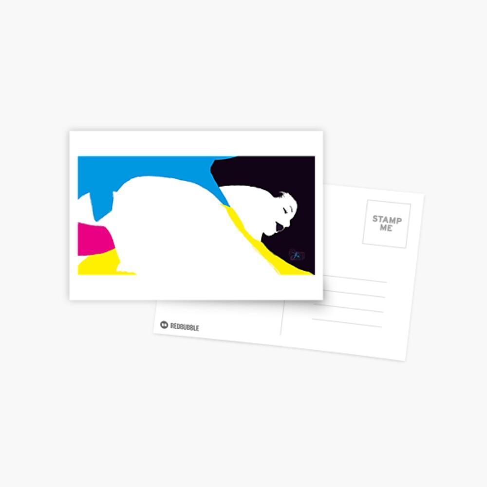 quadricromia quattro Postcard